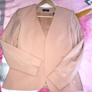 Theory pink blazer
